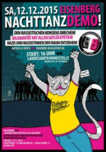 1: Eisenberg Nachttanzdemo